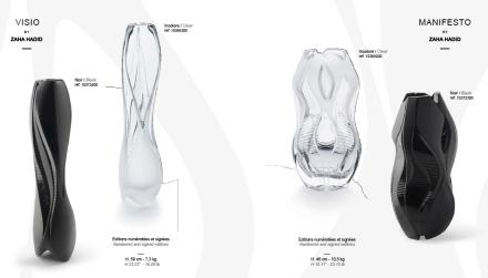 "Collection ""Crystal Architecture"" de Zaha Hadid"