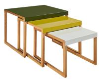 "Tables gigognes ""Kilo"" 100€, Habitat"