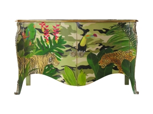 "Commode ""Jungle"", prix sur demande, Moissonier"