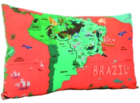 Coussin avec housse en coton, 40 x 24 cm, 9,95€, Nature & Découvertes