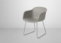 """Chaise """"Fiber"""" L 51 x P 58 x H 76,5 cm, à partir de 249€, Muuto"""
