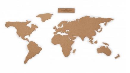 Stickers carte du monde. 39,90 €, Fleux