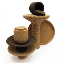 coupelle, boite, tabouret Cork & Craft, à partir de 85€ Gallery S.Bensimon