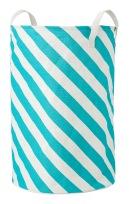 Panier de rangement en polyester et coton, 60 x 40 cm. 10€, Hema