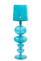 """Lampe """"Odyssee Bleue"""" en verre soufflé de 69 cm de haut. 749 euros, Les Heritiers"""