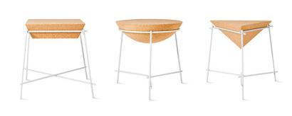 "Table d'appoint"" Basil"" ""Sphère"" Ø 46,7 cm x H 43 cm. 340€ Petite Friture Petite Friture"