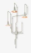 """Applique """"Light Forest"""", de Tineke Beunders et Nathan Wierink, en cuivre laqué, aluminium et ABS, prix sur demande, &Tradition. ©&Tradition"""