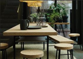 Table, tabourets, pichet Sinnerlig Ikea