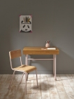 bureau et chaise d'écolier, 199€ et 85€, Cyrillus