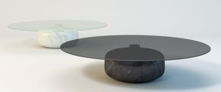 "Table basse ""Iona"" de Christophe Pillet, Enne"