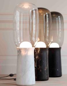 """Lampe à poser """"Torch Floor""""de Dan Yeffet, Collection Particulière"""