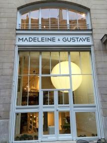 Devanture Madeleine & Gustave