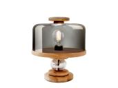 """Lampe à poser """"Bake Me a Cake"""" en chêne et verre,350€, Northern_Lighting chez Good object"""