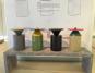 Table céramique à l'Institut du Monde Arabe de Karen Chekerdjian