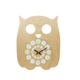 Horloge en bois. 56€, Camif