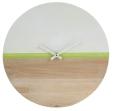 Horloge de 40 cm en diamètre. 19,99€, Conforama