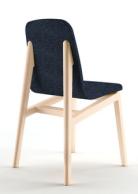 """Chaise """"My Mia"""" en frêne massif et feutre de laine, par Noé Duchaufour-Lawrance, prix sur demande, Habitat"""