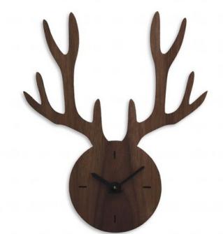 Horloge en noyer. de 25 cm de haut 46,90 €, Ideecadeau-fr