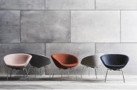 Fauteuil Pot, Arne Jacobsen, Fritz Hansen